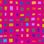 Blank Quilting Points of Hue 9988-22 Pink Colored Geo