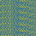 Blank Quilting Points of Hue 9994-76 Chartreuse Wavy Lines