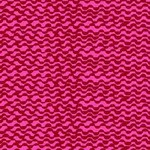 Blank Quilting Points of Hue 9994-82 Red Wavy Lines