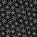 Blank Quilting All That Glitter is Snow 1520-99 Black