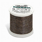 Madeira MM-426 Metallic No. 40 Embroidery Thread, 220 Yds. Multicolor Pink and Black, Box of 5 Spools