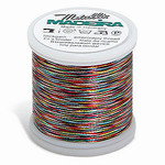 Madeira MM-AST5 Metallic No. 40 Embroidery Thread, 220 Yds. Astro Multi 5 (Dark Brights), Box of 5 Spools