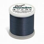 Madeira MR4-1160 40wt Rayon Thread 220 Yds. Medium Weathered Blue, Box of 5 Spools