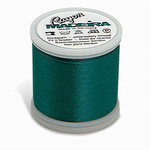 Madeira MR4-1247 40wt Rayon Thread 220 Yds. Green Peacock, Box of 5 Spools
