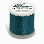 Madeira MR4-1279 40wt Rayon Thread 220 Yds. Medium Aqua, Box of 5 Spools