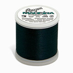 Madeira MR4-1290 40wt Rayon Thread 220 Yds. Midnight Teal, Box of 5 Spools