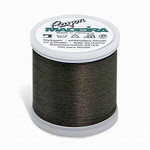Madeira MR4-1393 40wt Rayon Thread 220 Yds. Dark Khaki, Box of 5 Spools