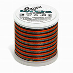 Madeira MR4-2144 40wt Rayon Thread 220 Yds. Multicolored Coral, Brown, and Teal, Box of 5 Spools