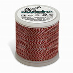 Madeira MR4-2201 40wt Rayon Thread 220 Yds. Indian Melange, Box of 5 Spools