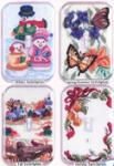 Sudberry House K3010 Four Seasons Switchplate Cross Stitch Embroidery Designs Multi-Formatted CD