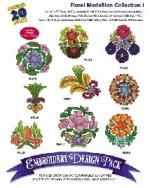 Amazing Designs Great Notions 1147 Floral Medallion I Multi-Formatted CD