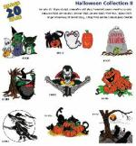 Amazing Designs / Great Notions 1092 Halloween II Multi-Formatted Embroidery CD