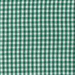 "Fabric Finders 15Yd Bolt@$9.34 Kelly Gingham 1/16"" Check Pima Cotton 60""W"