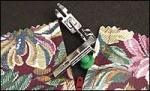 Janome 45 200342003 Narrow Base Adjustable Zipper Foot Low Shank Screw On