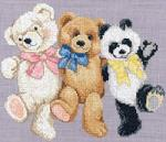Sudberry House D7200 Bears at Play Machine Cross Stitch Embroidery Designs Multi-Formatted CD