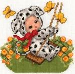 Sudberry House D6800 Animal Babies-Summer Machine Cross Stitch Embroidery Designs Multi-Formatted CD