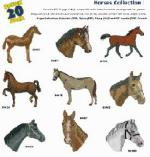 Amazing Designs / Great Notions 1223 Horses I Embroidery Multi-Formatted Cd