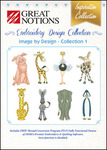 """Great Notions Inspiration IDI Image By Design Collection I Jumbo 5x7"""" Designs CD"""