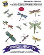 Amazing Designs / Great Notions 1173 Dragonflies I Multi-Formatted CD