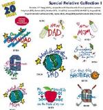 Amazing Designs / Great Notions  1177 Special Relative I Embroidery Multi-Formatted CD