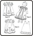 Old Fashion Baby Daydresses Sewing Pattern By Jeannie Baumeister