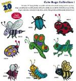 Amazing Designs / Great Notions 1201 Cute Bugs I Multi-Formatted CD