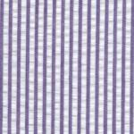 Fabric Finders 15 Yd Bolt 8.66 A Yd 063 Purple Stripe Seersucker 100% Pima Cotton Fabric