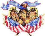Sudberry House D2300 United We Stand Digitized Machine Cross Stitch Designs