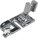 "8485: AlphaSew P60003 Singer Slant Screw On 1/4"" Rolled Hem Edge Presser Foot"