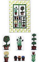 Amazing Designs ES103 Embroideryscapes Floralscape 2 Embroidery Disks