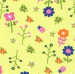 """Fabric Finders 15 Yd Bolt 9.34 A Yd #1024 Large Floral  100% Pima Cotton 60"""""""