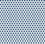 Fabric Finders 15 Yd Bolt 9.34 A Yd  #1027 Blue Dots on White100% Pima Cotton Fabric
