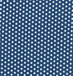 Fabric Finders 15 Yd Bolt 9.34 A Yd  #1026 White Dots on Blue 100% Pima Cotton Fabric