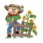 Amazing Designs  ADC 205 Charismatic Scarecrows Jumbo Embroidery Designs