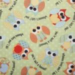 Babyville Boutique BV35014 Playful Friends Fabric 8 Yd Bolt  11.25 A Yd Polyurethane Laminated PUL