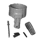 Electrolux Replacement Exr-5060 Repair Kit, Wand Cap W/  Rivet, Spring & Clip