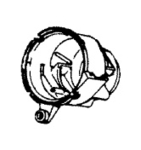 Hoover H-37191090 Housing, Motor Conquest  7069-7071