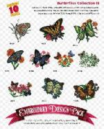 Amazing Designs / Great Notions 2037 Butterflies III Multi-Formatted CD
