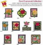 Amazing Designs / Great Notions 2052 Floral Framework I Multi-Formatted CD