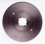 """KM S-135 4"""" Rotary Round Knife Steel Blade for RS-100 Cutter Machine"""