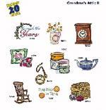 Amazing Designs / Great Notions 1240 Grandma's Attic II Multi-Formatted CD