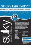 "Sulky Sticky Fabri-Solvy 20""x25Yd Roll Firm Printable Washaway Stabilzer"