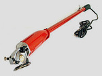 Superior AS100LH 24in Long Handle 2in Rotary Cutter +Blades, Brushes, Coupling, 3 Wire 9' Cord, 2x6 Sided Blades, 2 Sharpener Stones, 2 Motor Brushes