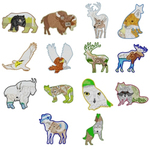 Dakota Collectibles 970535 Wildlife Portraits Multi-Formatted CD Embroidery Machine Designs