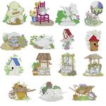 Dakota Collectibles 970534 Garden Decor Multi-Formatted CD Embroidery Machine Designs