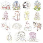 Dakota Collectibles 970533 Old West Multi-Formatted CD Embroidery Machine Designs