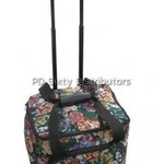 P60725 Sewing Machine Rolling Tote Bag Trolley Case Casters 14.5x11x13""