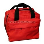 42417: P60226-RED Red Canvas Nylon Bag, Singer 221 Featherweight Sewing Machines