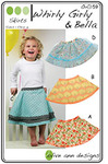 Olive Ann Designs 93-4034 Whirly Girl & Bella Sewing Pattern