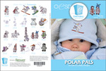 OESD 12322H Polar Pals Design Collection Multiformat Embroidery Design CD